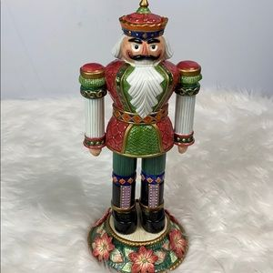 Fitz and Floyd Signature Collection Nutcracker Vtg